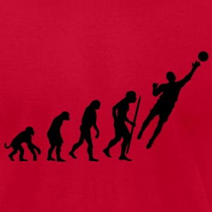 Evolution Goalkeeper Soccer Long Sleeve Shirts - Men's T-Shirt by American Apparel