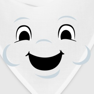 Marshmallow man face - Bandana