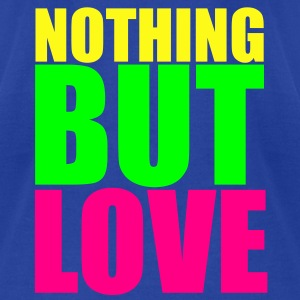 KCCO - Nothing But Love Tanks - Men's T-Shirt by American Apparel