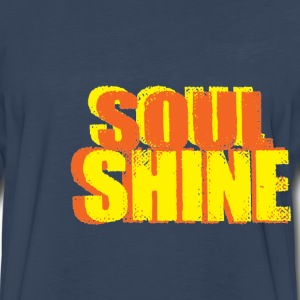 Let your Soul Shine with this Spearhead Hoodie - Men's Premium Long Sleeve T-Shirt