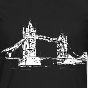 london bridge Hoodies - Men's Premium Long Sleeve T-Shirt