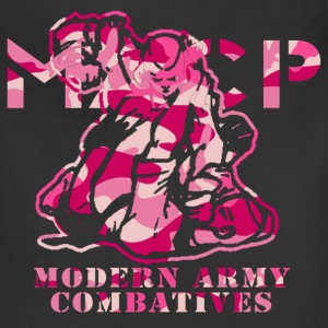 Pink Camo MACP Logo Women's T-Shirts - Adjustable Apron