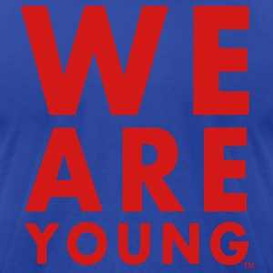 WE ARE YOUNG Hoodies - Men's T-Shirt by American Apparel