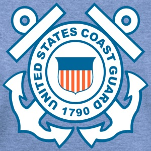 Coast Guard Symbol T-Shirts - Women's Wideneck Sweatshirt