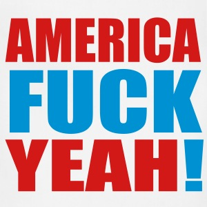 America Fuck Yeah! Vector (Pick Colors) T-Shirts - Adjustable Apron