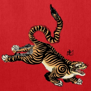 Japanese Tiger T-Shirts - Tote Bag