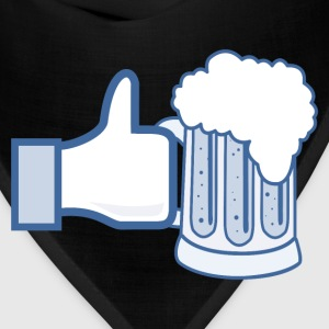 Like Beer Facebook Parody for St Patrick's Day - Bandana