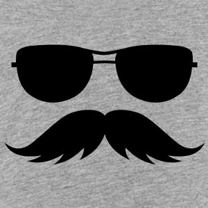 sunglasses and mustache Sweatshirts - Toddler Premium T-Shirt