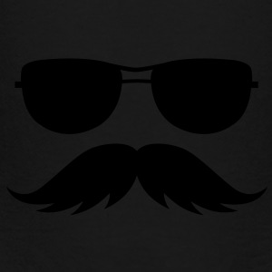 sunglasses and mustache Bags  - Toddler Premium T-Shirt