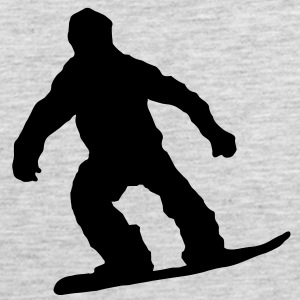 snowboarden_1_farbig Long Sleeve Shirts - Men's Premium Tank