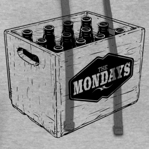 CASE OF THE MONDAYS T-Shirts - Contrast Hoodie