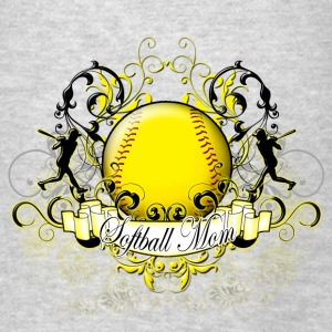 Softball Mom Hoodies - Men's T-Shirt
