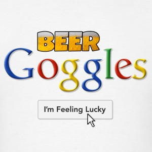 Beer Goggles - I'm Feeling Lucky Long Sleeve Shirt - Men's T-Shirt
