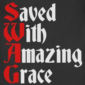 Saved With Amazing Grace (SWAG) Hoodies - Adjustable Apron