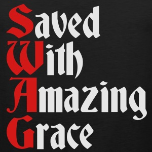 Saved With Amazing Grace (SWAG) Hoodies - Men's Premium Tank