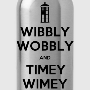 Wibbly Woobly and Timey Wimey Hoodies - Water Bottle
