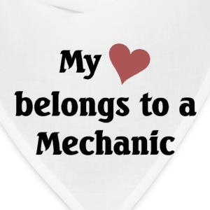 My heart belongs to a Mechanic - Bandana