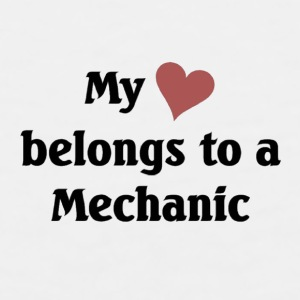 My heart belongs to a Mechanic - Men's Premium Tank