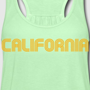 California t-shirt - Women's Flowy Tank Top by Bella