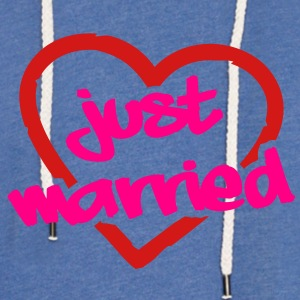 Just Married__V005 T-Shirts - Unisex Lightweight Terry Hoodie