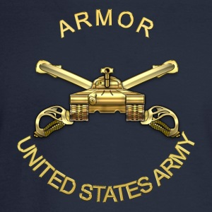 Armor Branch Insignia - Men's Long Sleeve T-Shirt