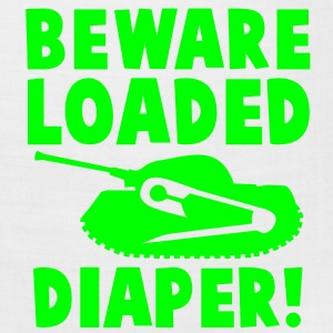 beware loaded diaper with safety pin and tank BABY Kids' Shirts - Bandana