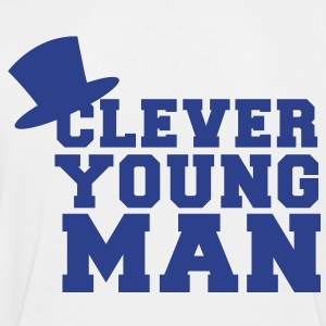 clever young man with a top hat educated Kids' Shirts - Toddler Premium T-Shirt