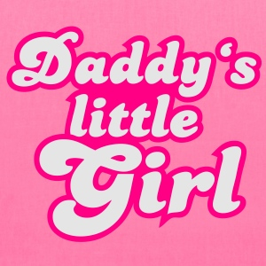 Daddy's little girl Women's T-Shirts - Tote Bag