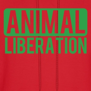 Animal Liberation - Men's Hoodie