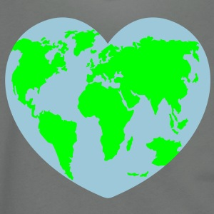 I love earth T-shirts (manches courtes) - Veste à capuche unisexe American Apparel