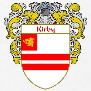 Kirby Coat of Arms/Family Crest - Men's T-Shirt