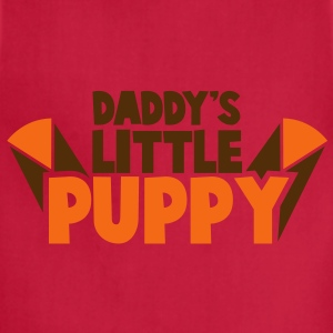 DADDY's little PUPPY! child baby design T-Shirts - Adjustable Apron