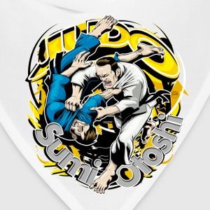 Judo Throw Design White Kids Sumi Otoshi - Bandana