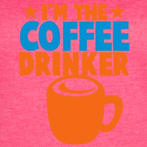 I'm the coffee DRINKER! with stars cool Tanks - Women's Vintage Sport T-Shirt