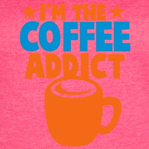 I'm the COFFEE addict! Tanks - Women's Vintage Sport T-Shirt