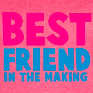 BEST FRIEND in the making Tanks - Women's Vintage Sport T-Shirt