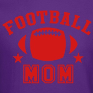 FOOTBALL MOM STAR DESIGN T-Shirt WP - Crewneck Sweatshirt