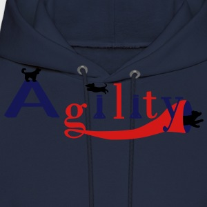 agility three dogs T-Shirts - Men's Hoodie