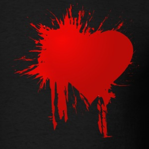 Bleeding Love - Men's T-Shirt