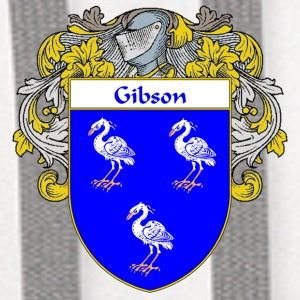 Gibson Coat of Arms/Family Crest - Contrast Hoodie