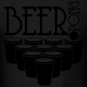 BEER PONG Hoodies - Men's T-Shirt