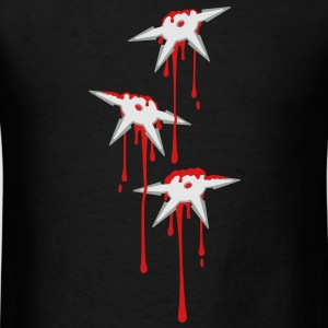 Throwing Star Wound Tanks - Men's T-Shirt