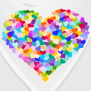 Rainbow Heart of hearts - Bandana