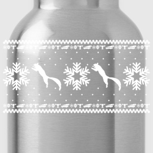 CHRISTMAS VACATION HOLIDAY PATTERN T-Shirts - Water Bottle