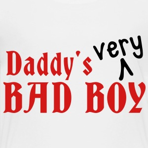 Daddy's VERY bad boy Kids' Shirts - Toddler Premium T-Shirt