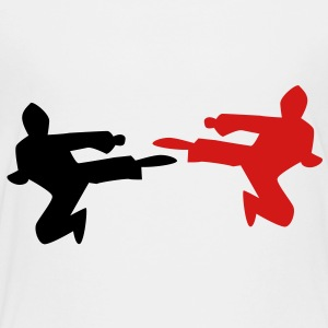 NINJA karate chop martial arts kungfu kick! Kids' Shirts - Toddler Premium T-Shirt