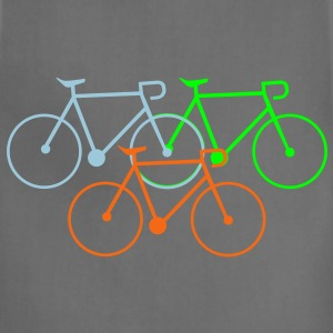 bike singlespeed fixie bycicle Women's T-Shirts - Adjustable Apron