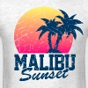 Vintage Malibu Sunset used - Men's T-Shirt