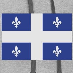 Quebec Canada T-Shirts - Contrast Hoodie