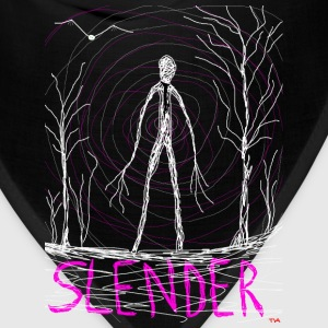 creepy slender man T-Shirts - Bandana